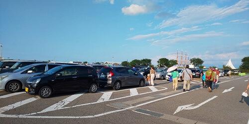 海王丸パーク駐車場