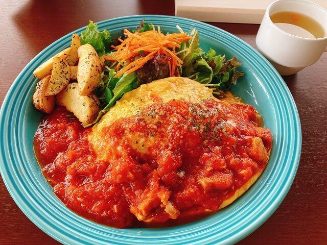 チキンのトマト煮ソース